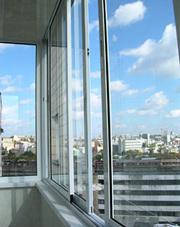 Алюминиевые окна,  двери,  перегородки