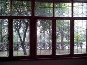 балконное окно б/у сосна